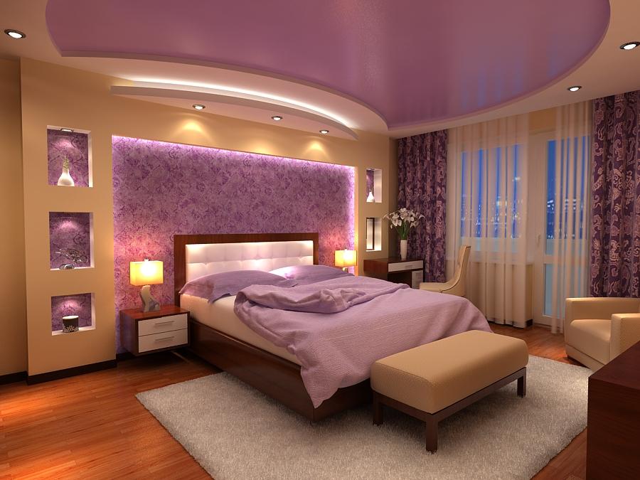 Смотреть дизайн спальной комнаты